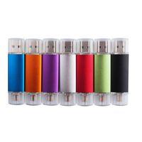 Wholesale OTG Colorful USB Flash Drive Memory Disks USB Real GB GB GB GB Free Customized Logo USB Flash Drives