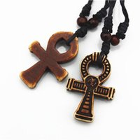 artificial bone - Artificial Bone Mens Womens Egyptian Ankh Cross Pendant For Necklace