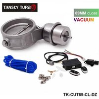 Wholesale new H G mm High Quality Closed Vacuum Exhaust Cutout Valve with Wireless Remote Controller Set TK CUT89 CL DZ