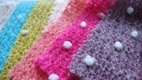 Wholesale 2016 High quality Sweater wool fabric winter scarf Cotton knitted Newborn Photography Backdrop prop Baby Wraps fabrics