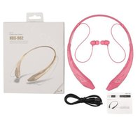 Wholesale HBS800 HBS HBS HBS HBS902 HBS Wireless Bluetooth sports headsets headphone necksets for samsung S5 S6 iphone plus LG