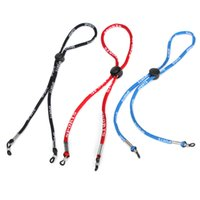 Wholesale Outdoor Adjustable Sports Sunglasses Glasses Neck Cord Strap Retainer String Lanyard New