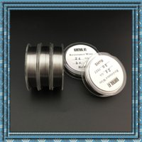 Wholesale Twisted wire clapton wire Heating Wires Winding wire Twisted wire For DIY RDA atomizer heating wire boxmod e cigarette dedicated