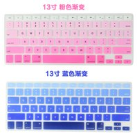 Wholesale 2016 Retail Silicone Keyboard Protector Skin Cover For Macbook Pro Air Mac Retina Keyboard Covers inch