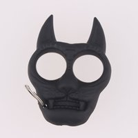 Wholesale Tiger Head Key Ring Knuckles Tool Keyring Keychain New Fashion Style Best Price