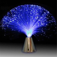 Wholesale 2016 new arrival Multicolor Fiber Optic LED Lamp Light Holiday Wedding Centerpiece Fiberoptic LEG_70P