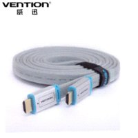 Wholesale hdmi cable m blue braided flat HDMI cable V P HD W Ethernet D FOR HDTV