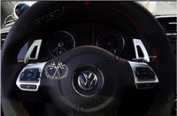 Wholesale DSG Aluminum Paddle Shift Extension for MK5 MK6 Jetta GTI R20 R36 CC Scirocco stocked ready to ship
