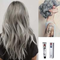 Wholesale Brand New Semi Permanent Hair Dye Color Cream Light Grey Smokey Grey Pc JC07137