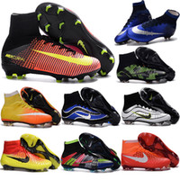 aa specials - New Mens AG FG Mercurial Superfly CR7 Soccer Shoes Magista Obra Soccer Shoes Outdoor Indoor Football Boots Hypervenom Phantom ii Cleats