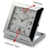 activate cmos - Square Clock DVR Motion Activated Spy Clock Camera Digital Video Recorder Home Security Camera Clock CMOS Sensor