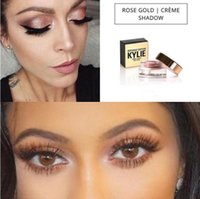 anti wrinkle cosmetics - Kylie Jenner Birthday Editon Kylie Cosmetics Creme Shadow Copper Rose Gold Creme OMBRE perfect kylie eye Limited Edition Gold Packaging