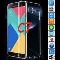 best brand videos - 2017 Best Christmas Gift Brand New C7 Phone Unlock Smartphone C MTK6592 Octa Core G RAM GB Storage Dual SIM Cards Original Logo