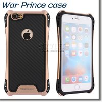 apple rubber case - Caseology Case For Iphone Cases Hybrid Armor Case For Galaxy S7 J7 Rubber Shockproof Combo Carbon Fiber Case BackCover OPP Package