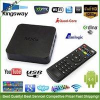 Wholesale OTT TV BOX MXQ S805 Android smart TV Box Amlogic S805 Quad Core Set Top Box VS Kodi TV BOX VS S905 Z4