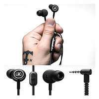 Cheap Marshall MODE Headphones In Ear Headset Black Earphones With Mic HiFi Ear Buds Headphones Universal For Mobile Phones