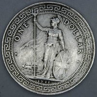 ancient coin reproductions - 1910 Ancient Antique China Silver Dollar Coins one dollar reproduction Russia s silver coin