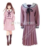 Wholesale Noragami Iki Hiyori cosplay costume dress Halloween costume