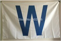 Wholesale MLB Chicago Cubs Major League Baseball W Flag hot sell goods X5FT X90CM Banner brass metal holes