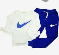 Wholesale 2016 Autumn Winter Jogging Femme Tracksuit Women Sport Suit Hoodie Sweatshirt Pant Marque Survetement Sportswear pc Set nk