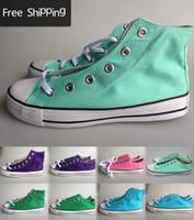 Wholesale Color Leisure Canvas Shoe
