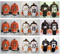 best ducks - Cheap Orange Anaheim Ducks Corey Perry Jersey Best Quality Ryan Getzlaf Jersey Black White Ryan Kesler Hockey Jersey