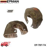 Wholesale EPMAN Racing Universal Titanium fiber Glass fiber Carbon Fiber T4 Turbo Heat Shield Blanket Performance Race Drag Rally Cars EP TBT T4