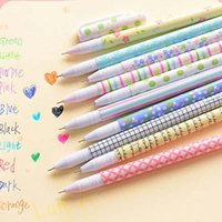 Wholesale High Quality Colored Pens Colors Watercolor Pen Gel Pens Stationery Material Escolar