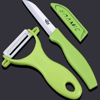 antioxidant fruits - Top quality ceramic knife set Peeler fruit knife wear sharp antioxidant kitchen knives cooking tools