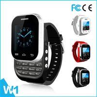 Wholesale W1 Bluetooth Screen Smart Wrist Watch with Dual Sim Card New Brand
