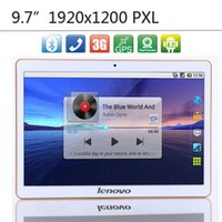 Wholesale 2015 New inch lenovo g LTE TABLET PC MTK6592 Octa Core Tablets phone IPS Screen DDR3 GB RAM GB ROM Wifi GPS Bluetooth Android