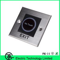 Wholesale Biometric infrared sensor switch no touch screen exit button K2 infrared exit button