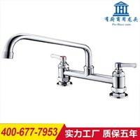 bath kitchen faucets - Double orifice turrets chart leading kitchen faucet copper cold and hot bath water