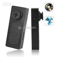 Wholesale Mini Hidden Camera S918 HD Button DV Video Recorder Spy Button Camera with Vibration function Hot