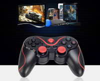 Wholesale Hot Selling T3 Wireless Gamepad Gaming Remote Bluetooth Controller Joystick BT for Android Smartphone Tablet PC TV Box DHL Free