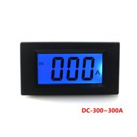 amp guage - DC to A Digital Ammeter Guage LCD Digit Amp Panel Meter Power Supply V Blue Backlight Display