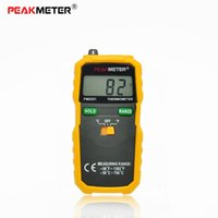 Wholesale PEAKMETER High Accuracy K Type Digital Thermometer Centigrade or Fahrenheit Data Hold and Range Selection
