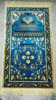 arabic rugs - Hot Sell tappeti Winter Thickened Paillasson Praying Carpet Muslim Prayer Mat Arabic Prayer Rug Capacho cm Tapis cuisine