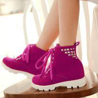 Wholesale Women Fashion Rivets Cross Strap Warm Boots Ladies Flat Shoes Woman Casual Mid Calf Boots Size K00513