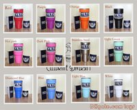 Wholesale Free DHL Yeti Cups Cooler oz Stainless Steel YETI Rambler Tumbler Cup Car Vehicle Beer Mugs Vacuum Insulated Refly