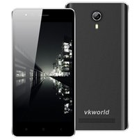 Wholesale Original VKWORLD F1 quot Quad Core MTK6580 Mobile Phone GHz GB GB Android MP G WCDMA mAh Dual SIM Smartphone