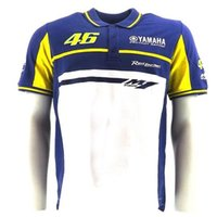 Wholesale MOTO GP Valentino Rossi VR46 Dual Yama Herren Polo Moto gp Polo shirt