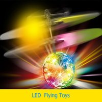 Wholesale New Novelty Light Up Toys Induction Sensor Ball LED Flashing Flying Electric Toys For Children Girl Or Boy