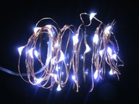 Wholesale 2PCS M led AA Battery Powered Decorative LED Copper Wire Fairy String Lights for Christmas Wedding Party Decor