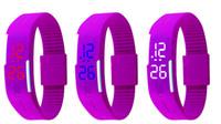 age calendar - colorful fashion smart bracelet PU watch wristbands Led light Electronic luminous waterproof watches GMT calendar whoelsale