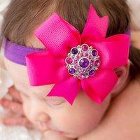 Flores acessórios de cabelo para os bebés Crianças headband Bandas rosas bonitas Pérolas do cabelo consideravelmente Headbands infantil Headbands atacado