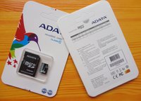 Wholesale 128GB GB Adata A Data Class UHS MicroSDXC Micro Memory Cards MicroSD Card with Free SD Adapter