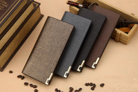 Wholesale New Fashion Design Men s Long Wallet Business style or Casual Men s Wallet clutch gift for boyfriend or father