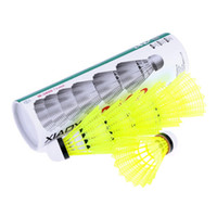 Wholesale New Set Training Badminton Nylon Shuttlecocks Professional Badminton Ball Outdoor Sports Practice Accessories