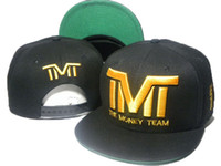 brand hip hop cap - Brand New arrival Men s Hip Hop TMT Snapbacks hats Adjustable Basketball caps the money team drop shipping